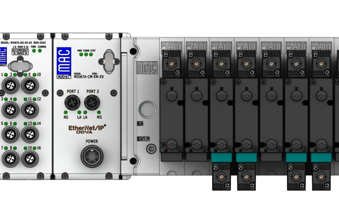 Introducing the new MI/O-67 from MAC Valves