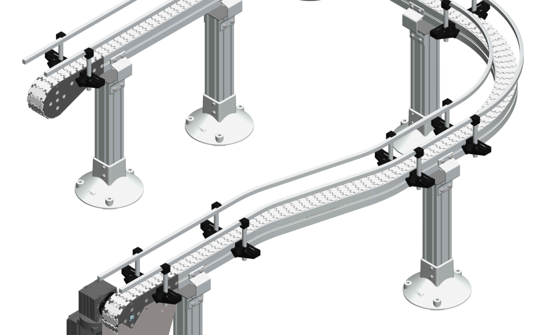 Introducing the new Flextrac Conveyor from QC Conveyors
