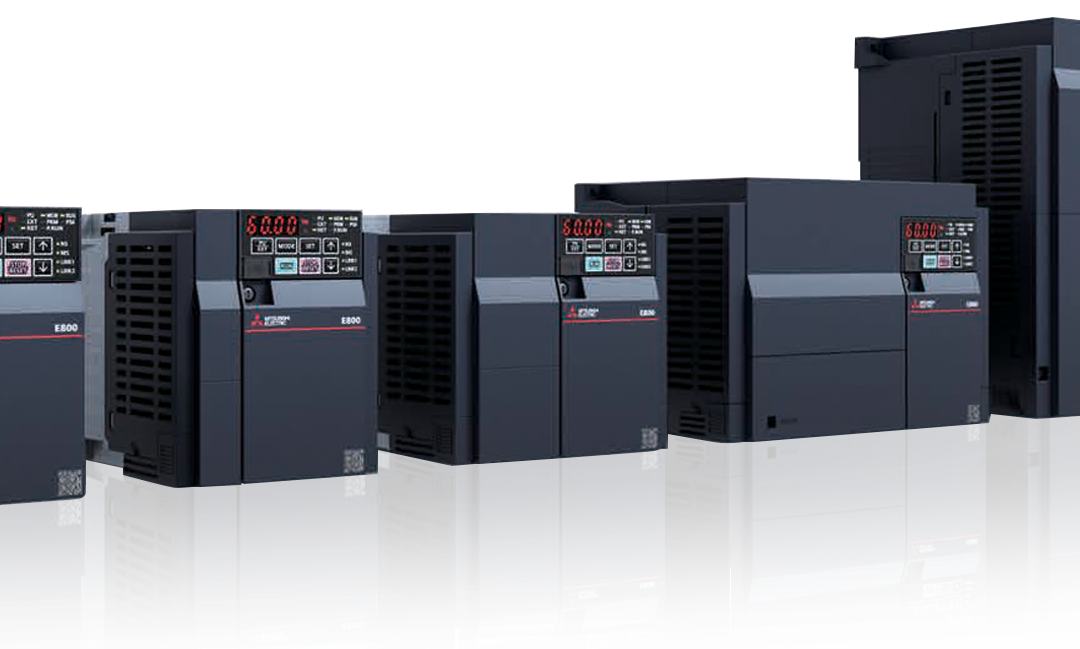 Introducing the new FR-E800 series inverters from Mitsubishi