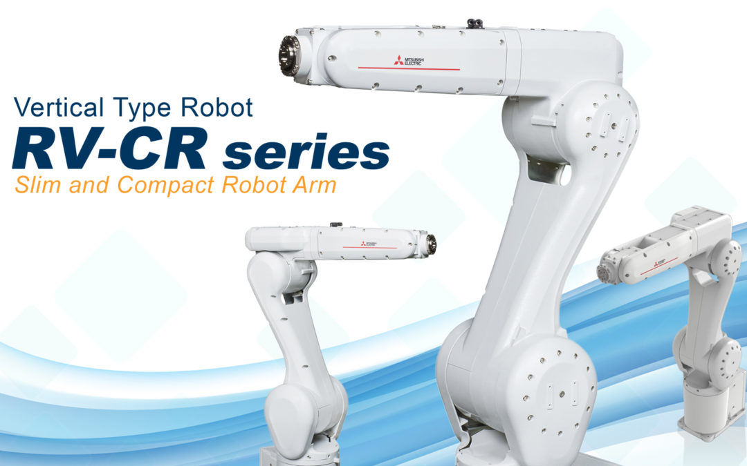 Introducing the New RV-CR Robots from Mitsubishi Electric